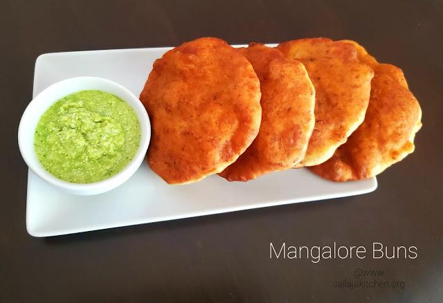 images ofBanana Buns Recipe / Mangalore Buns Recipe / Indian Fried Banana Buns / Puffed Banana Pooris / Banana Puris