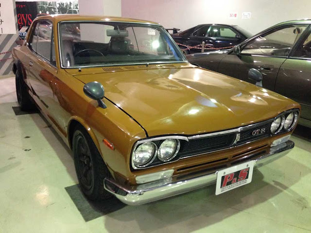 Nissan/Prince Skyline Museum in Okaya, Japan