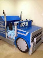 Increíbles camas que les encantarán a los pequeños camion