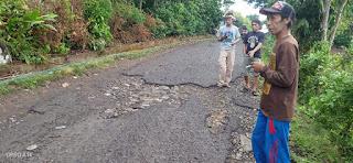 Kondisi Jalan Rusak Warga Bonto-Bontoa Harap Ada Perhatian Pemerintah.