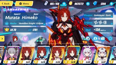 Honkai impact 3 character