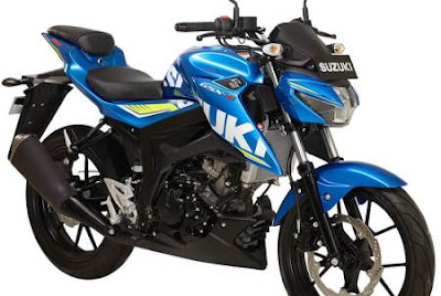 2017 Suzuki GSX-S150 blue image