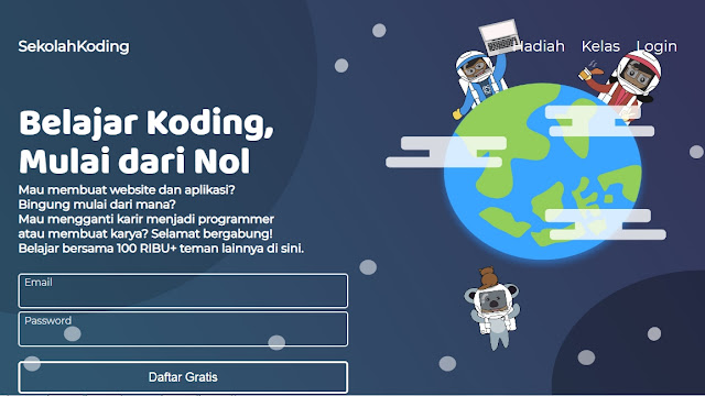 15 Situs Cara Belajar Coding Online Dari Newbe Hingga Sampai Pro