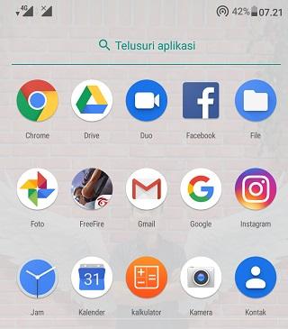 Letak Menu Gallery HP Asus ZenFone Max Pro