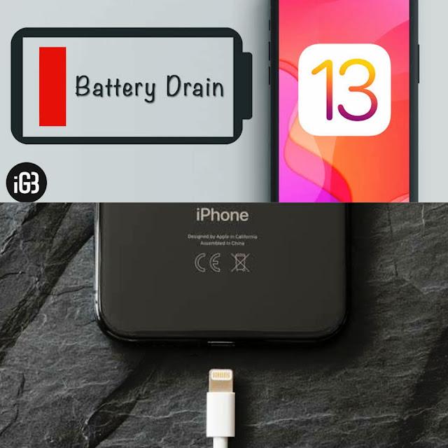 بعض النصائح لتحسين أداء البطارية للأيفون بعد تحديث iOS 13 .