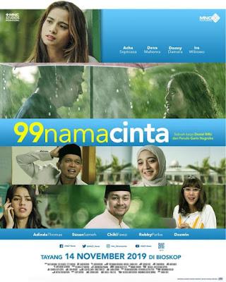poster film 99 Nama Cinta