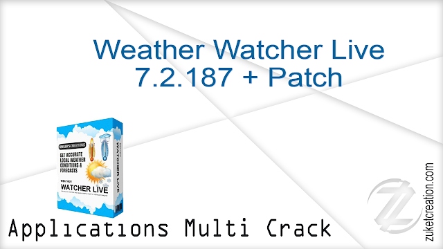 Weather Watcher Live 7.2.187 + Patch | 23 MB