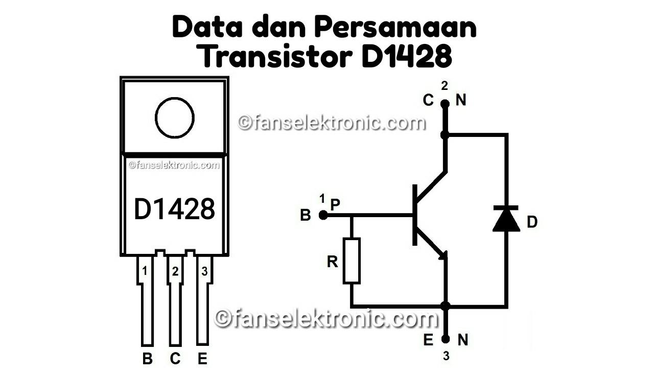 Persamaan Transistor D1428
