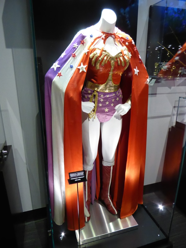 Original Lynda Carter Wonder Woman TV costume
