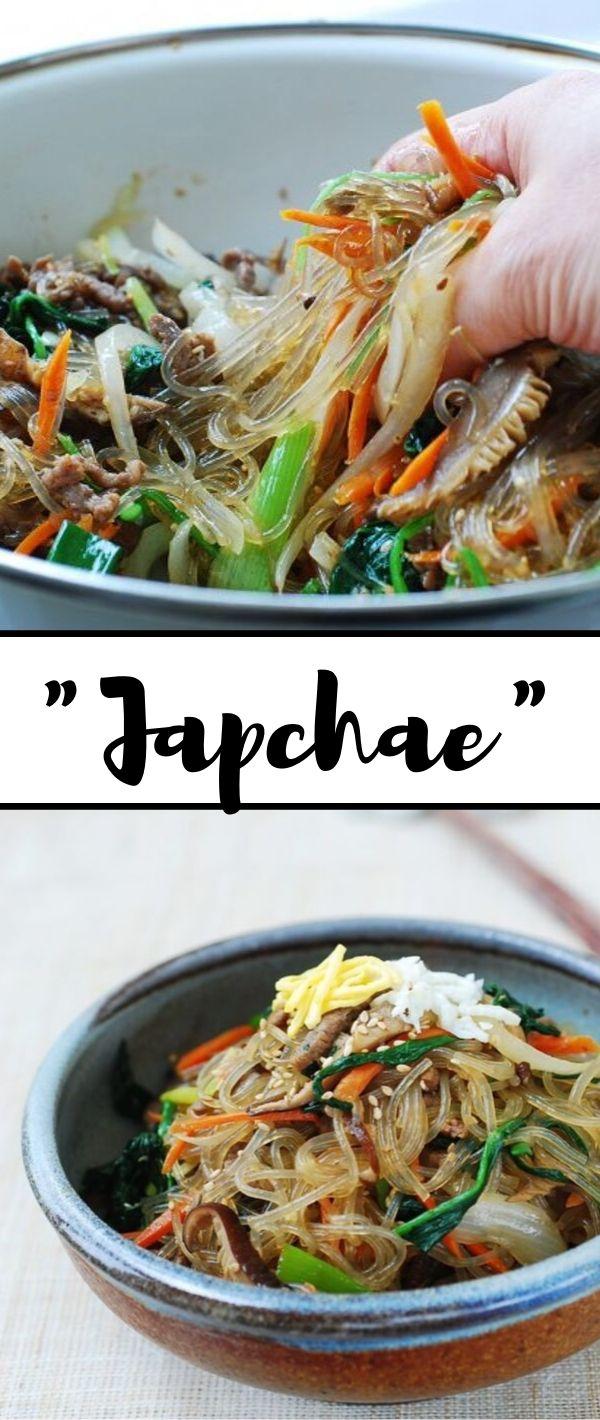 Japchae #Japchae Healthy Recipes Easy, Healthy Recipes Dinner, Healthy Recipes Best, Healthy Recipes On A Budget, Healthy Recipes Clean,