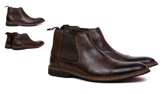 Chelsea Boots marrom clássica
