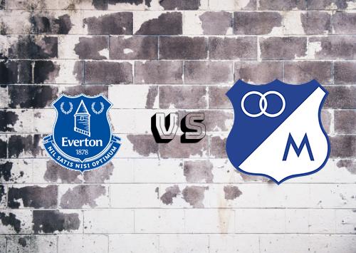 Everton vs Millonarios  Resumen y goles