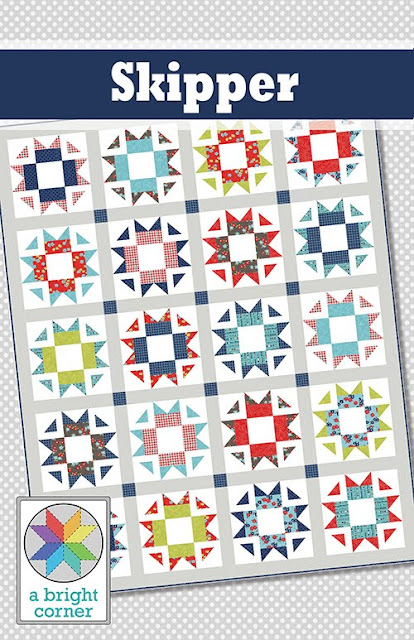 Skipper Quilt Pattern - fat quarter friendly pattern in four sizes
