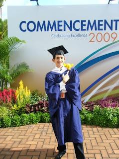 Yuantai NUS graduation