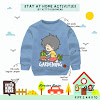 SWEATER STAY AT HOME By VITTO KIDSWEAR