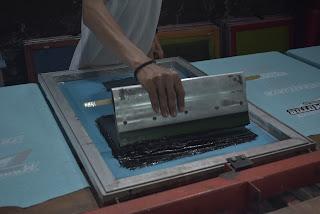 Pengertian sablon manual beserta penjelasannya secara lengkap