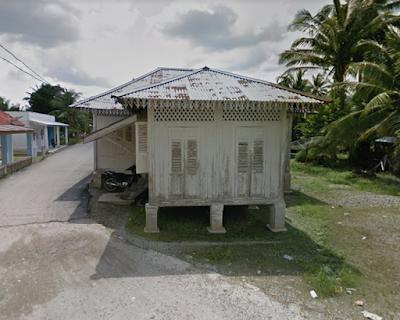 Pulau Tilan rumah tua rantau bais