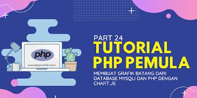 Membuat Grafik Batang Dari Database MYSQLI Dan PHP Dengan Chart.js