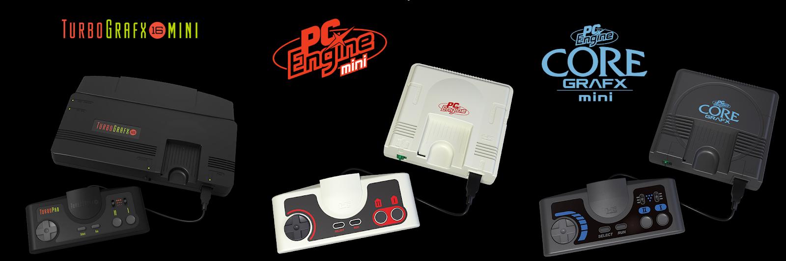 shaolanXD com: Konami annonce une PC Engine Mini