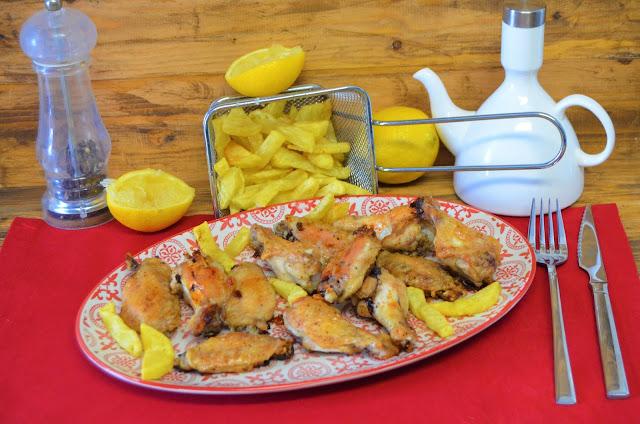Las delicias de Mayte, alitas de pollo al horno receta muy fácil rápida y económica, alitas de pollo crujientes, alitas de pollo al horno, alitas de pollo al horno crujientes,