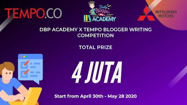 DBP Academy x Tempo Blogger Writing Competition Now Open!