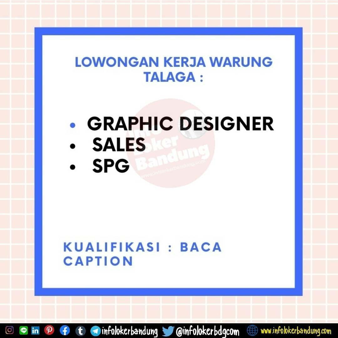 Lowongan Kerja Talaga Group Bandung Februari 2020
