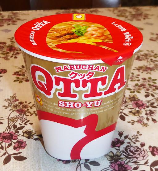【マルちゃん(東洋水産)】MARUCHAN QTTA クッタ しょうゆ味