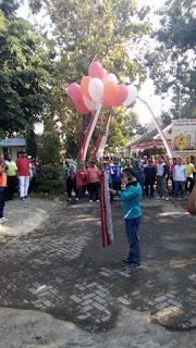 Jalan Sehat Kecamatan Kraton Peringati Hari Jadi Pasuruan ke 1090