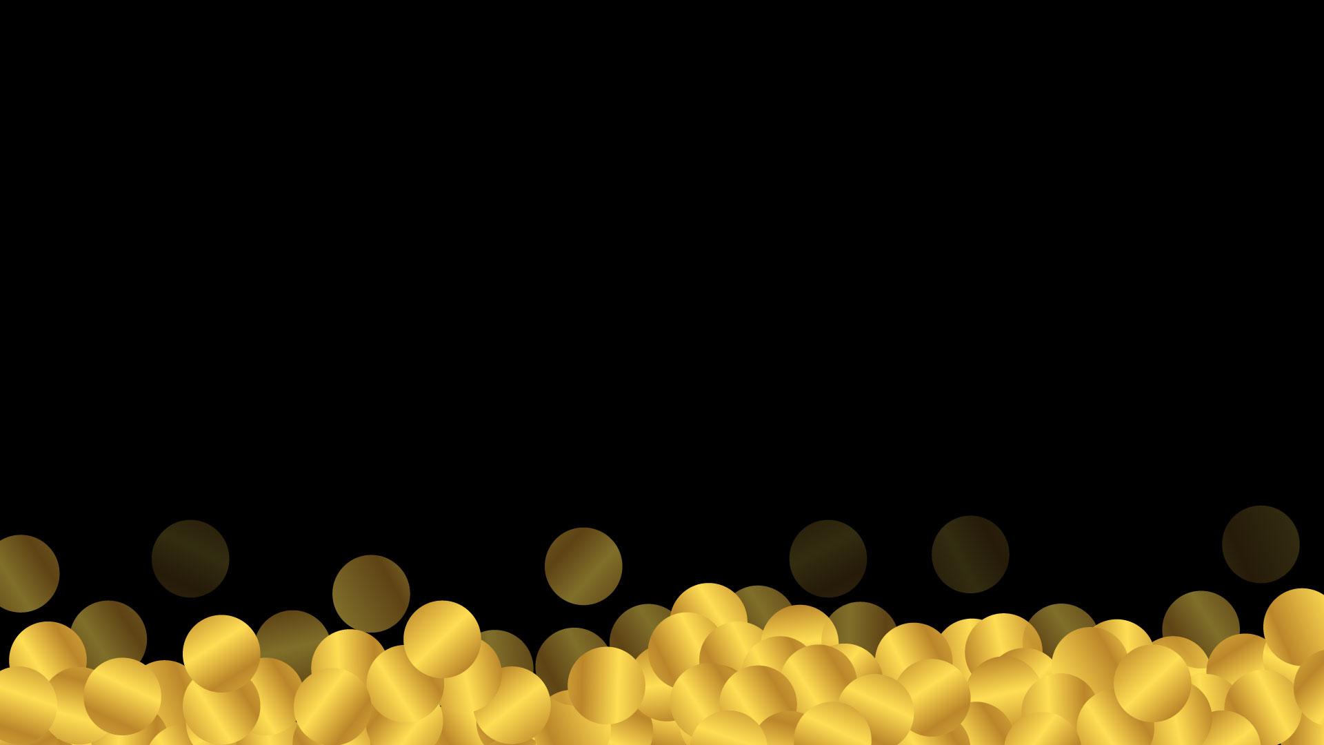 hitam koin emas