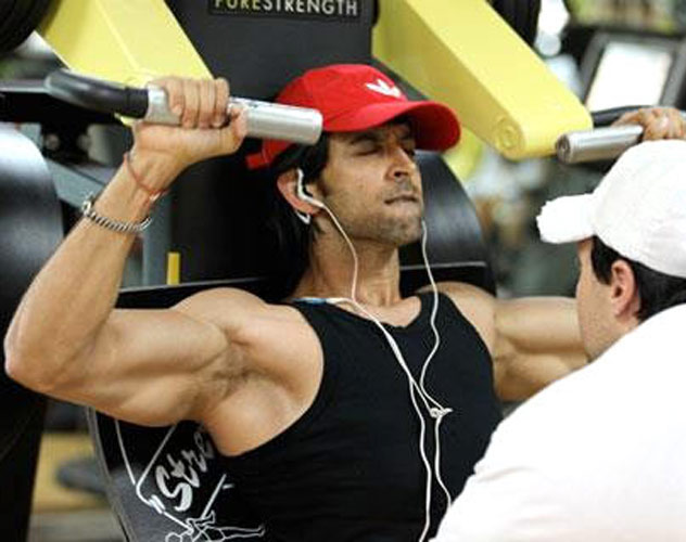 hrithik roshan body workout and diet   top ten indian