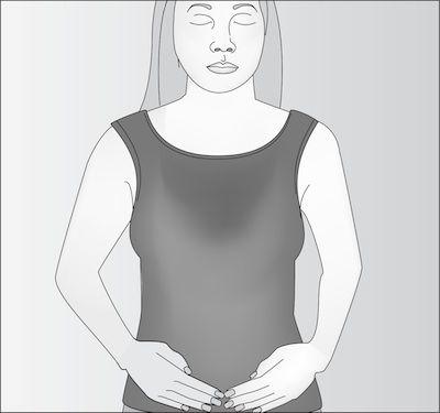 وضعية عظام الحوض للريكي