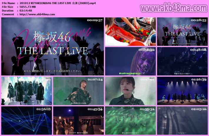 KEYAKIZAKA46 THE LAST LIVE