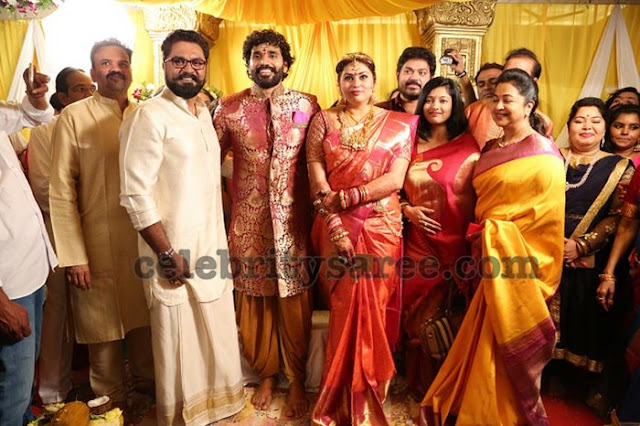 Actress Namitha Veera Wedding4