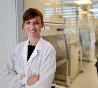 Pilar Comingo, investigadora Ramón y Cajal de la Universitat de València