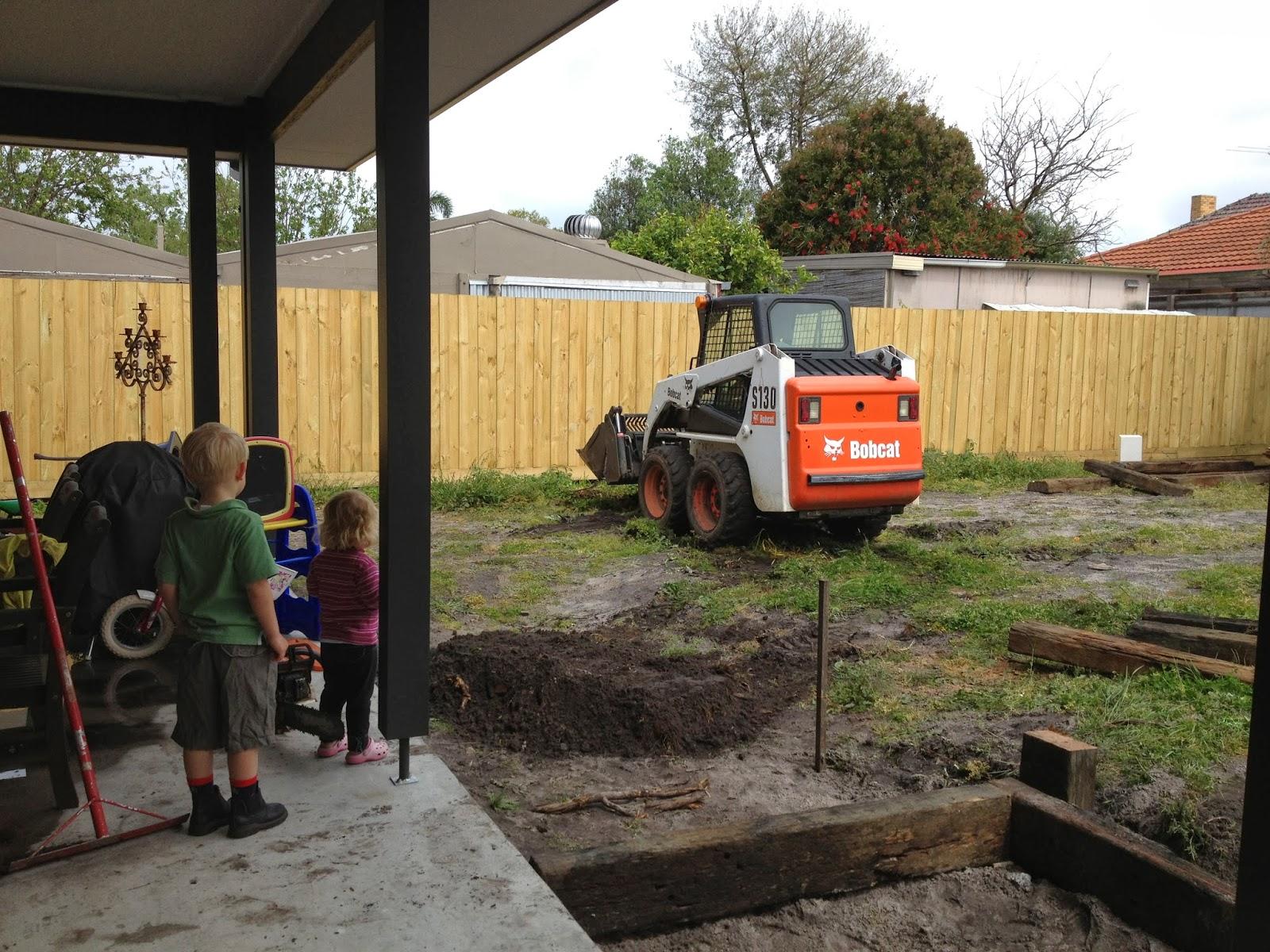 Our Porter Davis Wembley 35 Landscaping Backyard Part 1