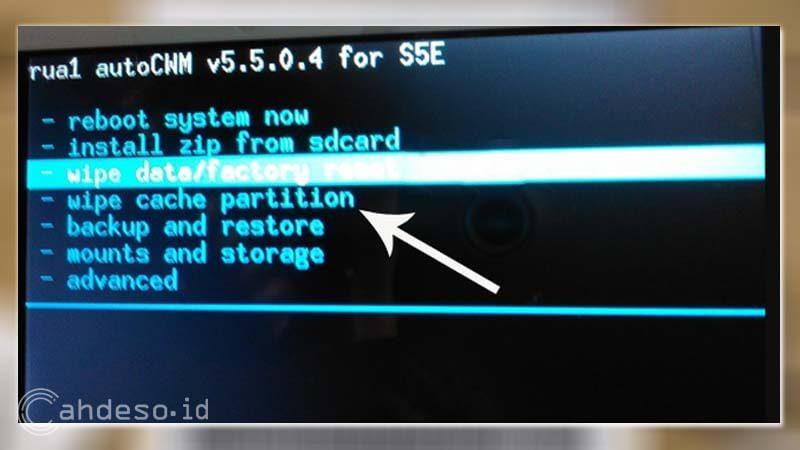 Hapus File Cache Sistem Android