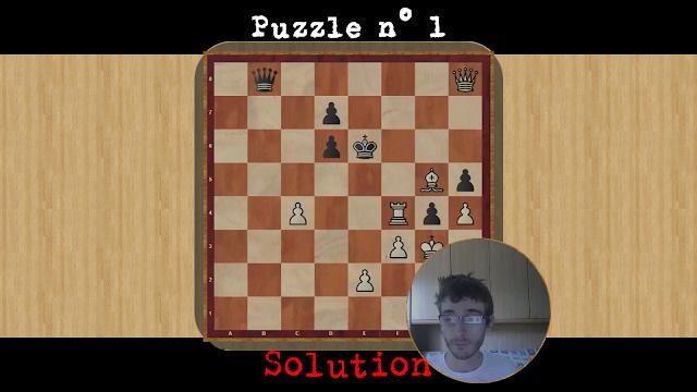Soluzione Puzzle 1 data dal Maestro Santagati