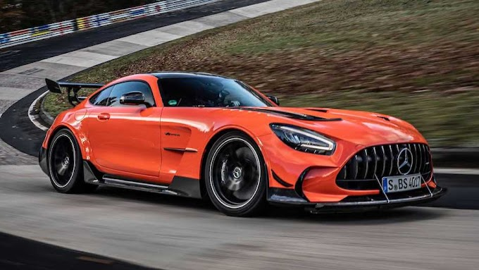 Amg Black Series 2021 is now the fastest on the track at nurburgring