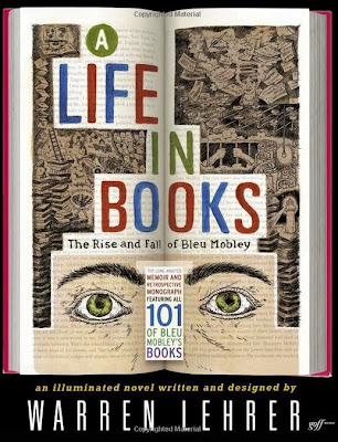 A Life in Books by Warren Lehrer – Front book cover