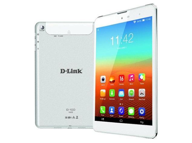 D-Link D100, Tablet Quad Core KitKat Dengan Kamera 5MP Harga 2 Jutaan