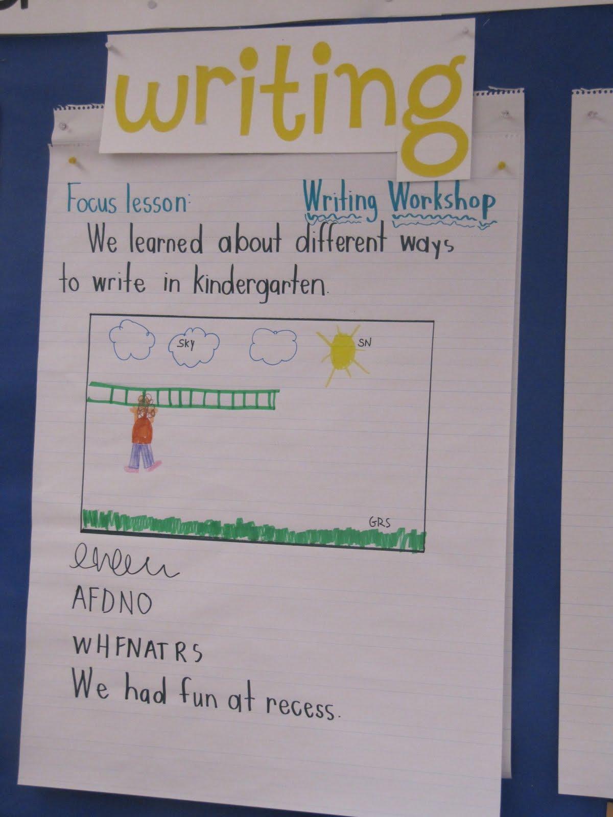 IMG 9395 - Kindergarten Writing Workshops