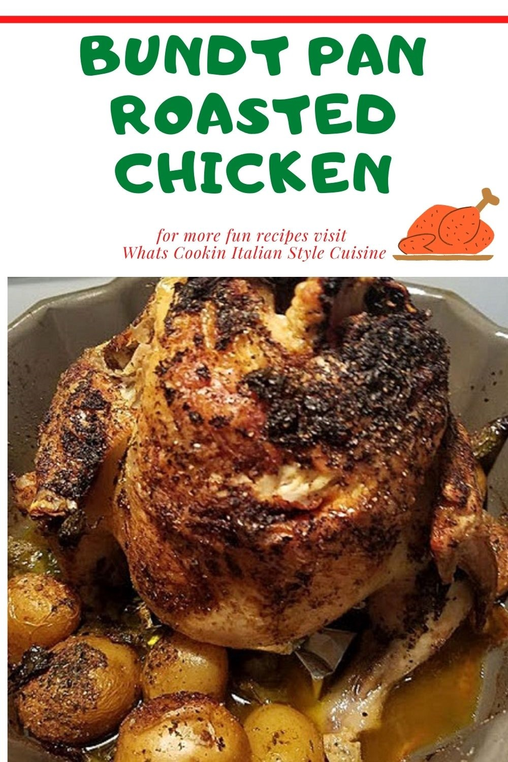 this is how to make bundt pan chicken pin for later recipe