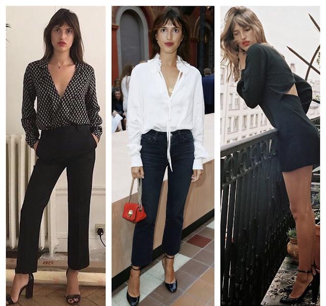 Moje modowe inspiracje kto mnie inspiruje inspirować się francuski paryski szyk jak znaleźć swój styl francuska modelka Jeanne Damas itgirl moda paryżanka