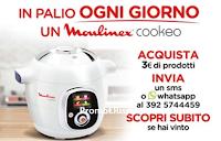 Logo Vinci 70 Cookeo Mulinex con Coca-Cola