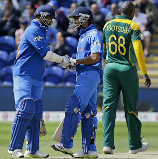 India vs South Africa 1st Match ICC CT 2013 Highlights
