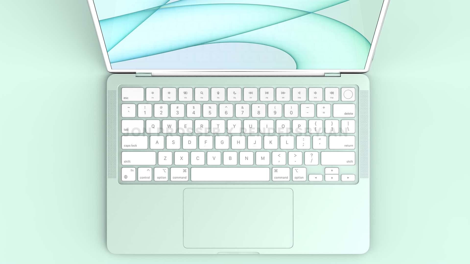 2021 MacBook Air 鍵盤
