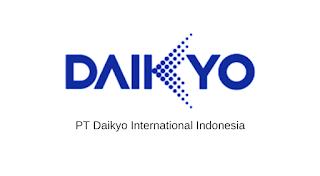 Lowongan Kerja Terbaru Fresh Graduate PT. Daikyo International Indonesia Jababeka Cikarang