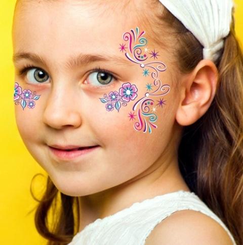 Simple Fairy Face Paint