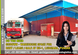 Warehouse on Rent Godown for Lease Rent in Ludhiana Punjab