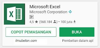 Cara Lengkap Menggunakan Ms.Exel di Android